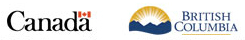 Government of Canada, Province of British Columbia Logo
