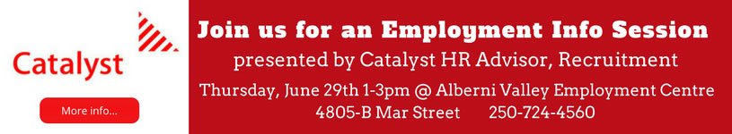 Catalyst Employment Information Session