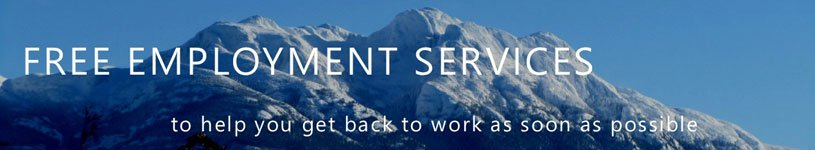 Free Employment Services - to help you get back to work