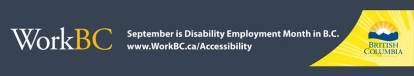 Disability Employment Month September 2017