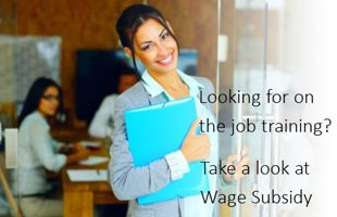 Wage Subsidy for Job Seekers