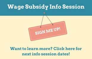 Wage Subsidy Information Session